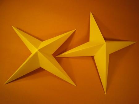 3d Stern Kreative Sterne Aus Papier Basteln