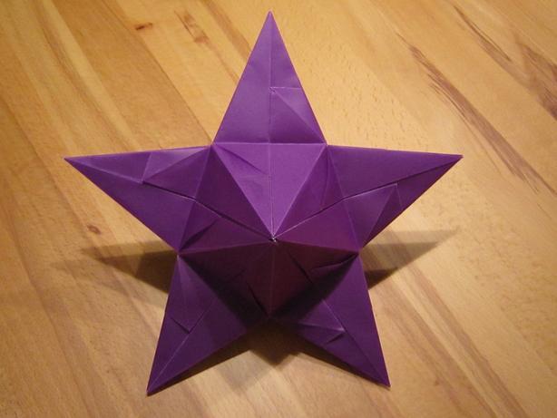 3d Stern Basteln 5 Zacken : 5 zackiger aurelio stern aurelio sterne basteln ~ Lizthompson.info Haus und Dekorationen