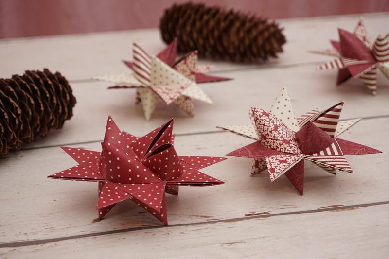 Anleitung Kreative Fröbelsterne Zu Weihnachten Basteln