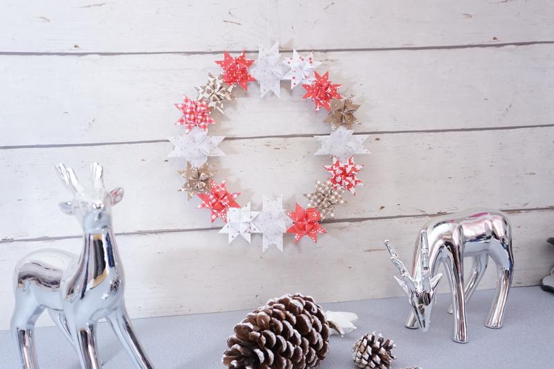 Frobelstern Kranz Kreative Frobelsterne Zu Weihnachten Basteln